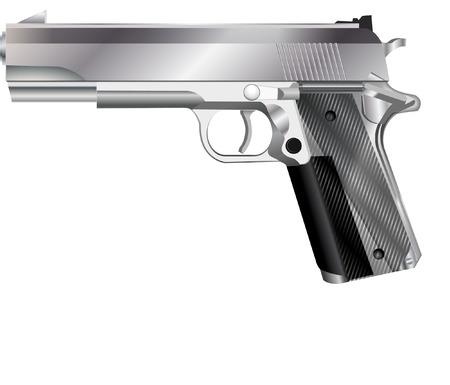 maim: hand gun