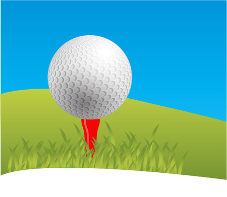 free images stock: golf Illustration