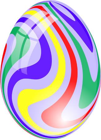 GLASS EASTER EGG Vector