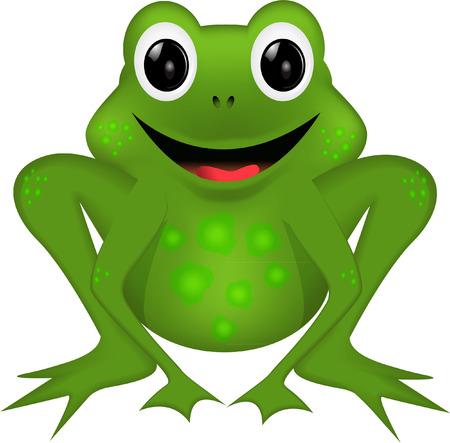 tree frogs: RANA DIVERTIDA Vectores