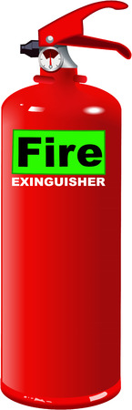 the precaution: fire extinguisher