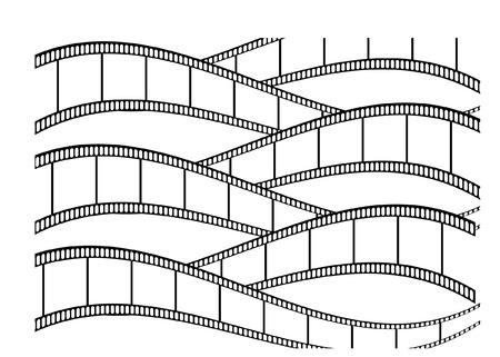 unused: film strips