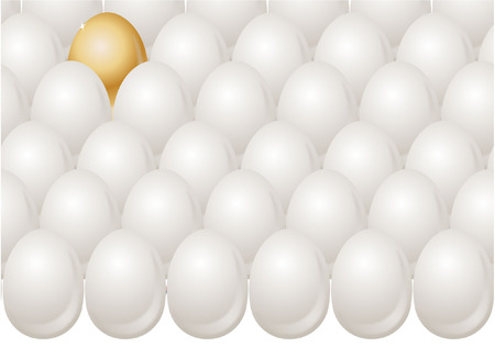 odd one out: EGGS WITH ODD ONE OUT GOLD EGG