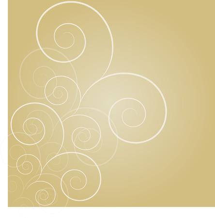 swirl: parchment swirl Illustration