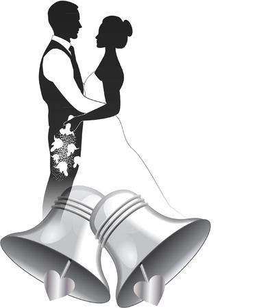 wedding bells Vector