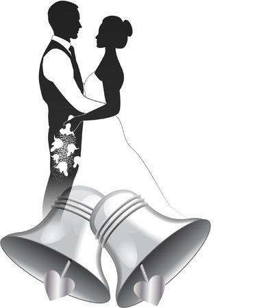 wedding bells Vector