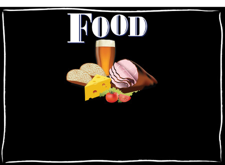 pub food Vector
