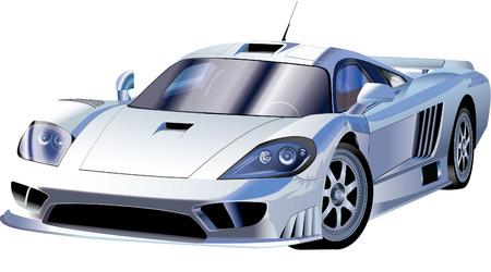 高速スポーツ車  イラスト・ベクター素材