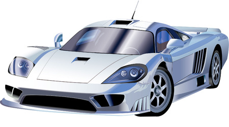 FAST SPORTS CAR Vector