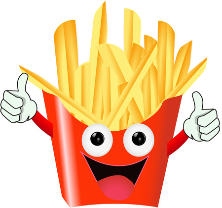 FEAST FOOD FRIES Vector