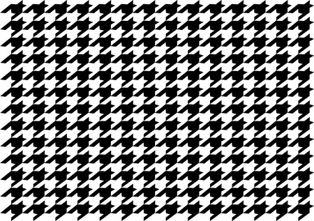 preppy: DOGTOOTH PATTERN Illustration