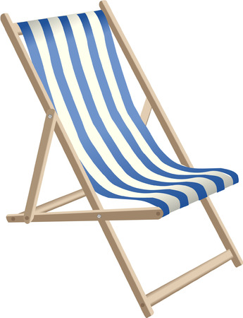 stock photos: deckchair