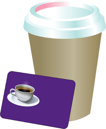TAKEAWAY COFFEE Vector