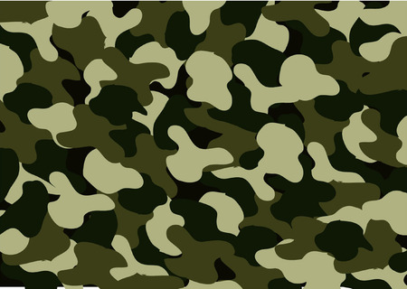guerilla warfare: CAMOUFLAGE abstract as wallpaper  Illustration