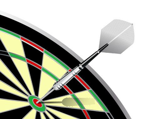 bullseye: DARTS BULLSEYE Illustration