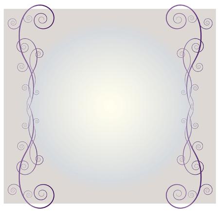 swooshes: ABSTRACT SWIRL DESIGN Illustration