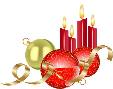 Bougies de Noël Banque d'images - 27981113