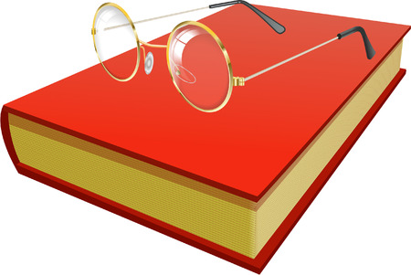 prose: BOOK AND GLASSES