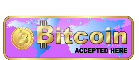 BITCOIN SIGN Illustration