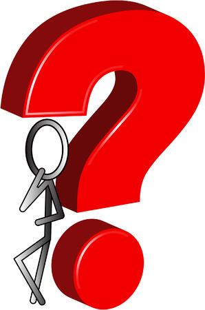 big question Vector