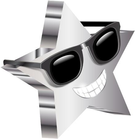 cool star Vector