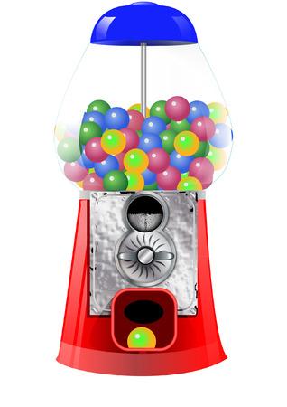 gumball machine Vector