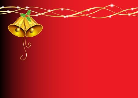ilex: christmas bell decoration