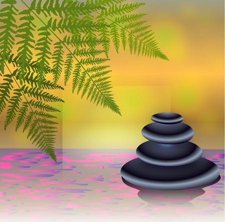 Zen-Steine Standard-Bild - 28463915