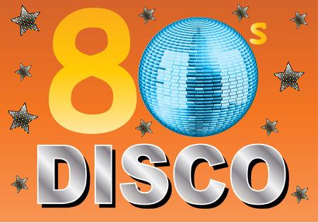 80 s: 80 s Disco Illustration