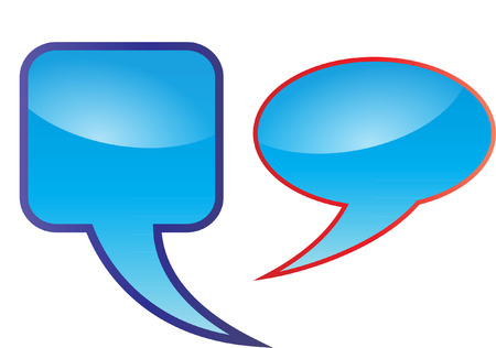 free thought: speech bubbles