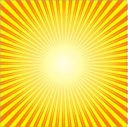 yellow  art: rayos de sol