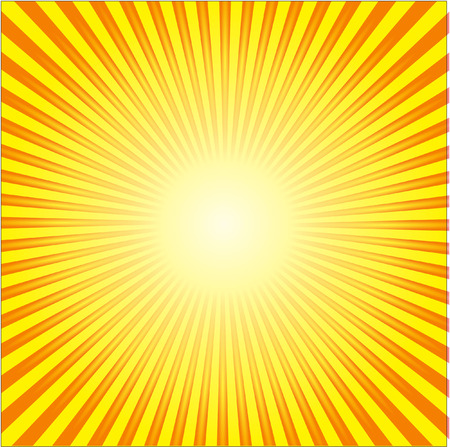 yellow background: sunburst Illustration