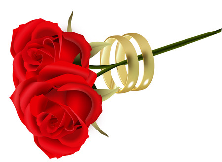 ROSES AND RINGS Vector