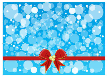 BOW ON ABSTRACT BACKGROUND Vector