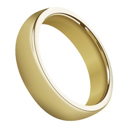 BOUCLE DE MARIAGE Banque d'images - 29034989