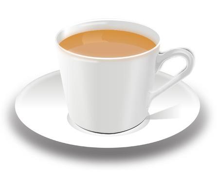 broth: CUP OF TEA Illustration