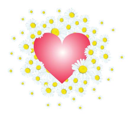 DAISY HEART Vector