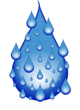 bubbling: water Illustration