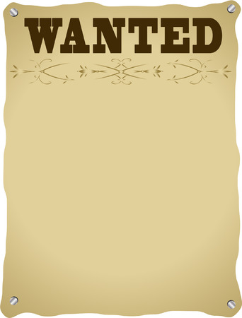 指名手配のポスター