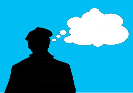 disoriented: MAN THINKING