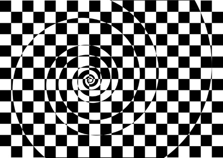 HYPNOTIC BACKGROUND Vector