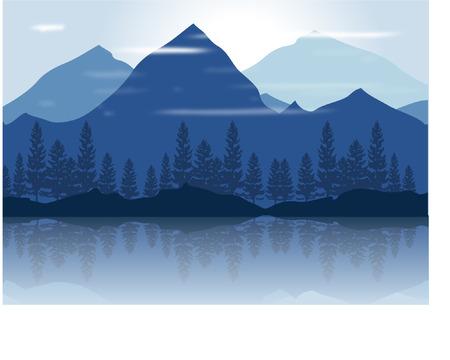 MONTAGNE Illustration