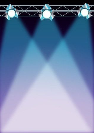 STAGE LIGHTS Vector