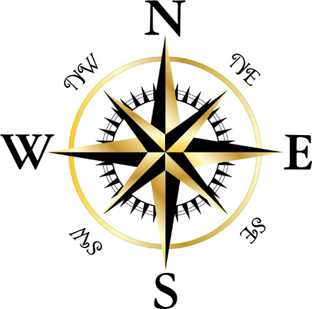 COMPASS Stock Vector - 30644472