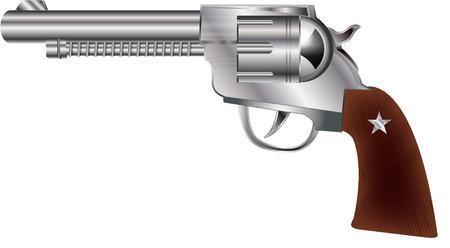 COWBOY GUN Vector