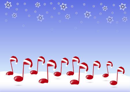CHRISTMAS MUSIC Vector