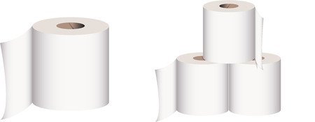 toilet roll: TOILET ROLL Illustration