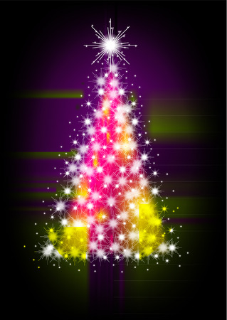 eps picture: christmas tree