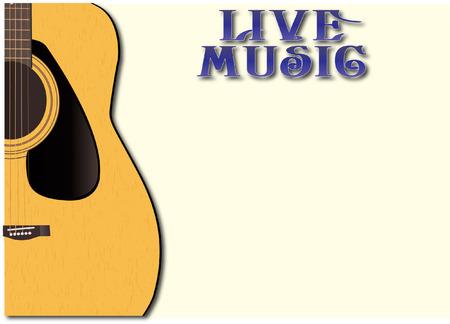 Live Music GUITARE Banque d'images - 34363304
