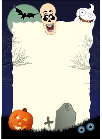 HALLOWEEN INVITATION Illustration